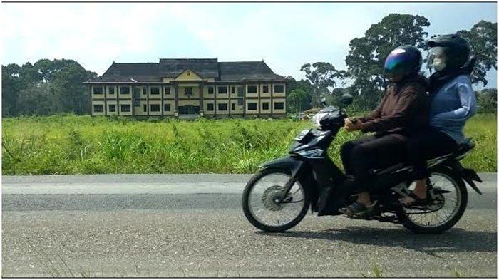 Gedung baru Mapolres Muratara di Jalinsum Desa Karang Anyar, Kecamatan Rupit, Kabupaten Muratara.