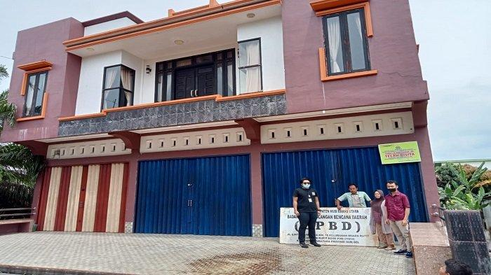 Gedung yang Disewa Kantor BPBD dan Dinkes Muratara Disita, Terkait Kasus Narkoba