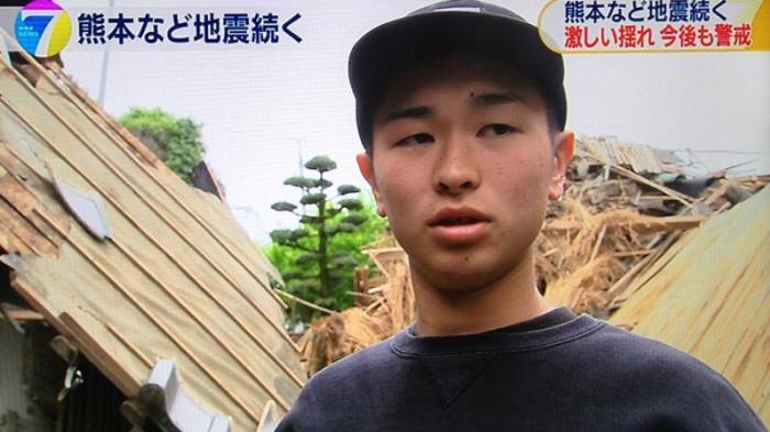 Berkat Medsos, Anak Muda Jepang Ini Selamat dari Runtuhan Rumahnya