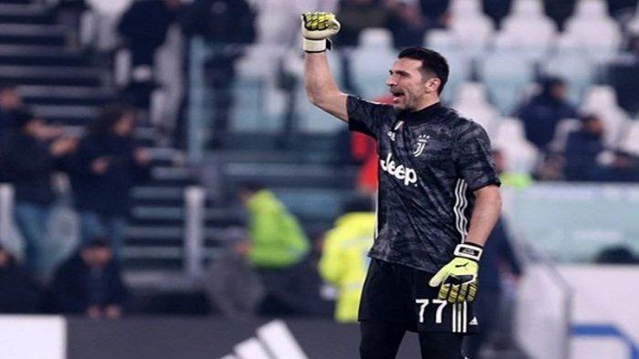 Gianluigi Buffon saat berseragam Juventus