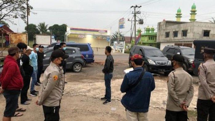 Polsek Pemulutan Polres Ogan Ilir melaksanakan Kegiatan cipta kondisi (cipkon) dengan melaksanakan razia di Desa Tanjung Pasir Kecamatan Pemulutan OI.