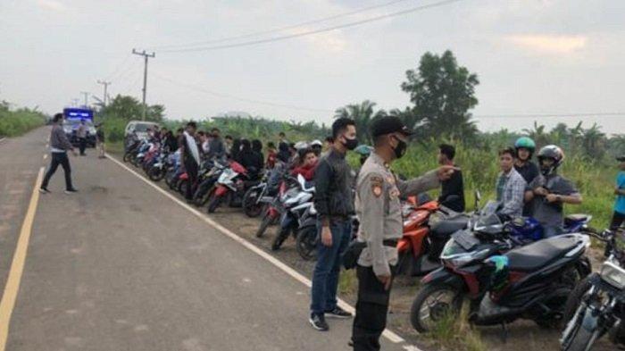 Polsek Pemulutan Laksanakan KRYD untuk Giat Cipkon