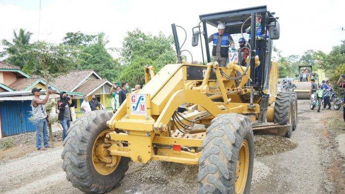 Giliran Musi Rawas Dapat Bantuan Infrastruktur Puluhan Miliar dari Gubernur Herman Deru