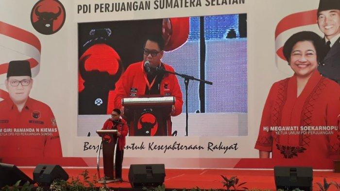 PDI Perjuangan Siapkan Opsi Pasangan di Pilkada Serentak SumselTahun 2020
