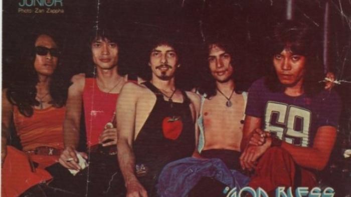 Deddy Dores Ternyata Pernah Bergabung dengan Band Rock Legendaris God Bless  - Tribun Sumsel