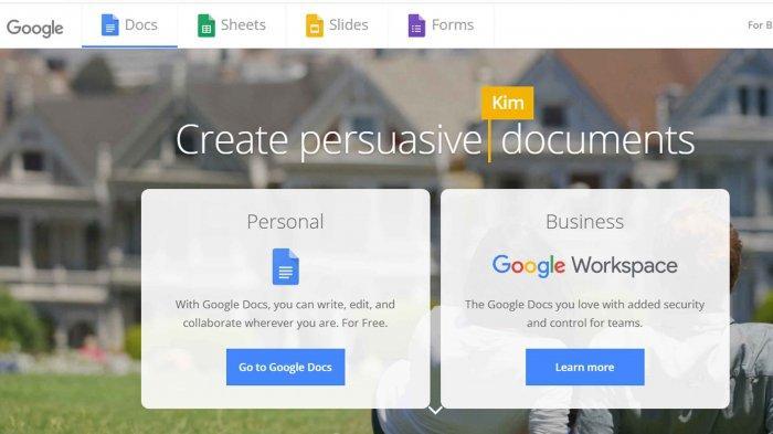 Google Docs, Ini Cara Membuat Dokumen Menggunakan Google Docs di PC/Laptop dan HP Smartphone