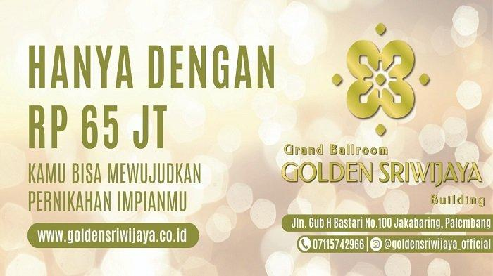 Selalu Kedepankan Prokes, GelarResepsi Pernikahan di Golden Sriwijaya Hanya Rp 65 Juta - grand-ballroom-and-building-golden-sriwijaya-3.jpg