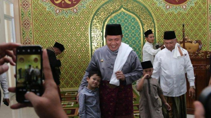 Buka Tahun 2020, Gubernur Herman Deru Pacu Program Grebeg Masjid