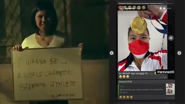 Sosok Greysia Polii di Video Klip Agnezmo Tahun 2012 Ini Jadi Sorotan, Sebut Ingin jadi Juara Dunia