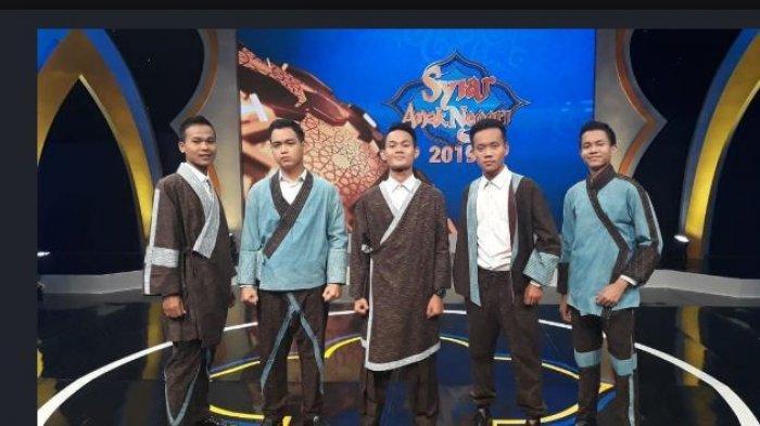 Grup Nasyid Khazanah dari MAN 1 Palembang Juara ProgramSyiar Anak Negeri 2019