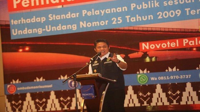 Gubernur Sumsel Buka Workshop Kepatuhan Komponen Standar Pelayanan Publik