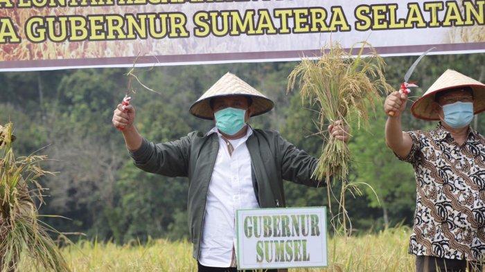 Gubernur Herman Deru Dorong Kabupaten OKU Menjadi Daerah Lumbung Pangan di Sumsel