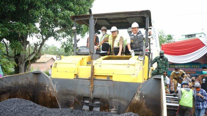 Gubernur Herman Deru Dorong Penerapan Aspal Karet Lateks di Sumsel