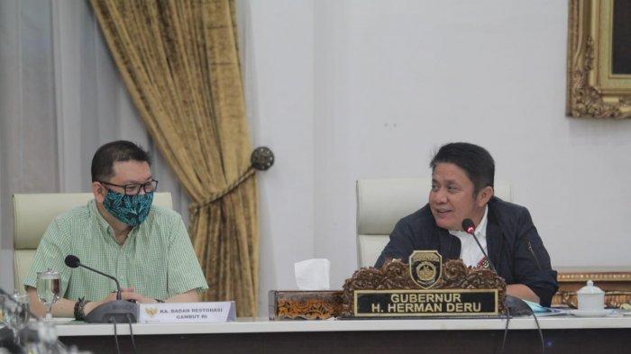Gubernur Herman Deru Dukung Restorasi Gambut untuk Ketahanan Pangan