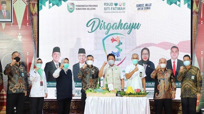 HUT ke-3 Tahun, Herman Deru Ingin RSUD Siti Fatimah jadi RS Rujukan Spesialis Jantung