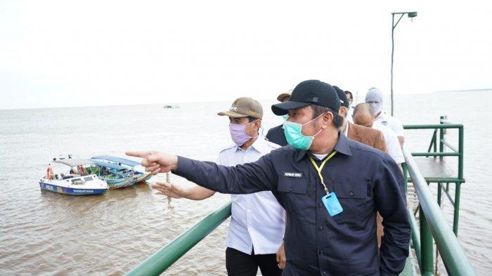 Gubernur Herman Deru Optimistis Tak Lama Lagi Pelabuhan Tanjung Carat Jadi Gerbang Ekspor Sumsel