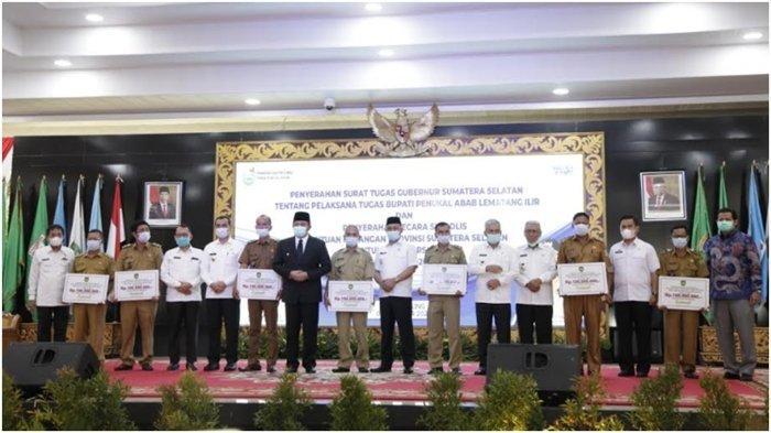 Bantu Puluhan Desa Persiapan, Gubernur Sumsel Gelontorkan Rp 7,7 Miliar