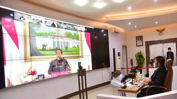 Rakor Evaluasi PPKM Level 4, Herman Deru Sudah Jalankan Tiga Arahan Presiden Jokowi