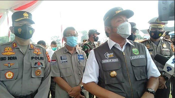 Gubernur Sumsel Herman Deru: Petugas di Lapangan Harus Cerdas dan Cermat Pantau pemudik