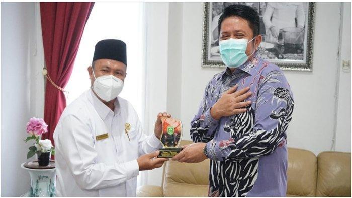 Gubernur Sumsel H Herman Deru Berharap Pemprov dan Kakanwil Kemenag Sinergi Bina Umat