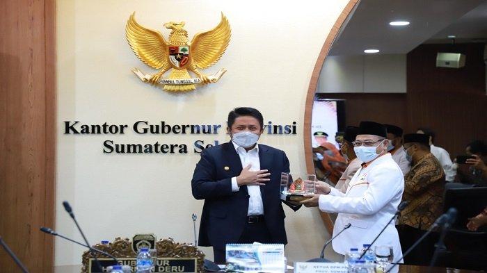 Terima Audensi DPW PKS Sumsel, Herman Deru: Kedewasaan Berpolitik di Sumsel Tetap Terjaga