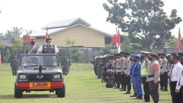 Antisipasi Gangguan Keamanan Jelang Idul Fitri, Herman Deru Pimpin Apel Gabungan Ketupat Musi 2021