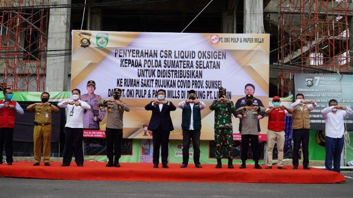 Gubernur Sumsel Apresiasi Langkah Polda Sumsel Serukan Instansi Sediakan Tabung Oksigen