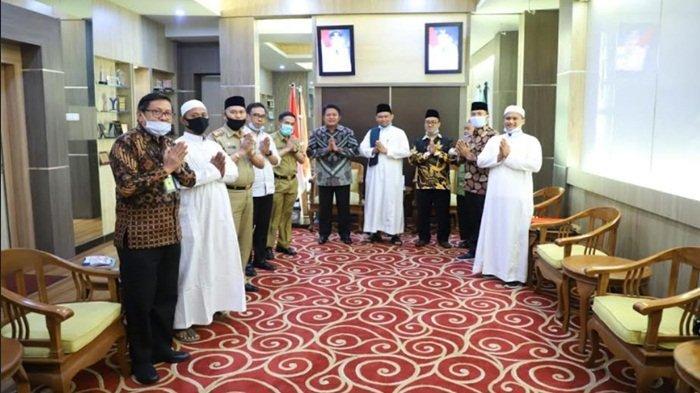 Forpes Pagaralam Silaturahmi ke Gubernur Sumsel, Laporkan Perkembangan Program Rumah Tahfidz