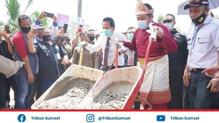 Tuntaskan Pembangunan Jalan Penghubung Prabumulih - Ogan Ilir, Pemprov Sumsel Kucurkan Rp 30 M