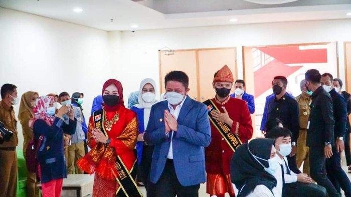 Gubernur Sumsel Herman Deru dan Forkopimda Isi Kuliah Umum PPKMB Bina Darma