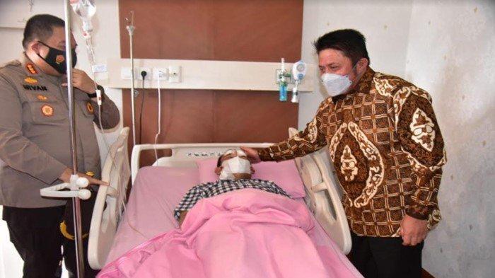 Update Kondisi Bripka Ridho Otonardo, Dirawat di RS Bhayangkara Moh Hasan, Sudah Bisa Diajak Bicara