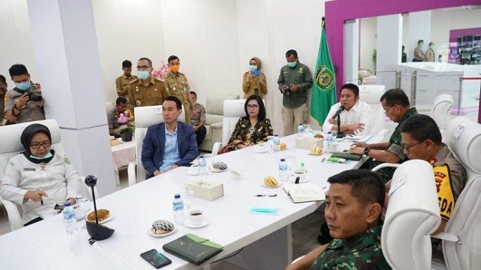 Gubernur Sumsel Tekankan Wako-Bupati Lebih Agresif Tangani Covid-19