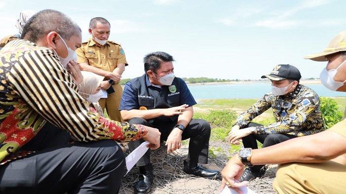 Respon Keinginan Masyarakat, Gubernur Sumsel Herman Deru Tinjau Lokasi Exit Tol Palindra