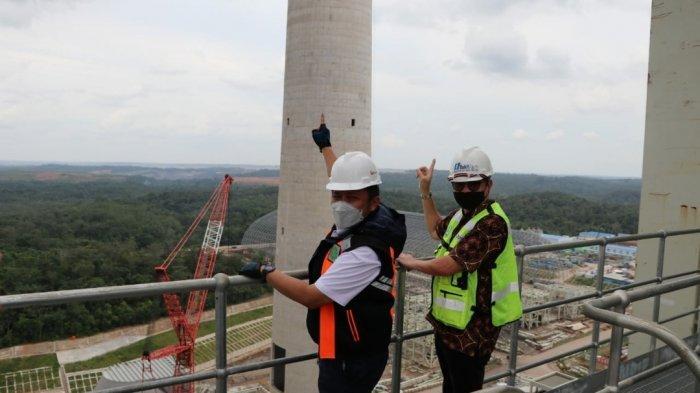 Gubernur Sumsel,H Herman Deru Mengecek pembangunan PLTU Tanjung Lalang