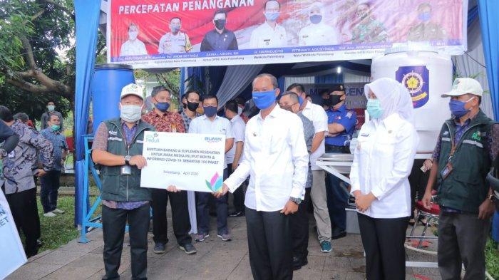 Harnojoyo Distribusikan Bantuan Para Donatur