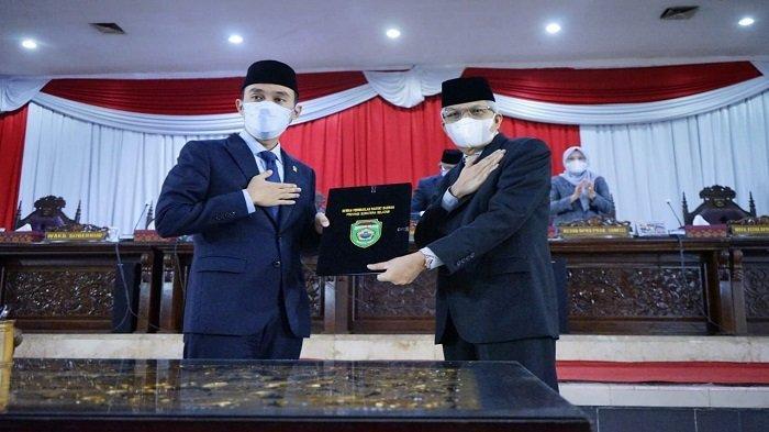 Wagub Mawardi Dengarkan Penyampaian Hasil Reses Tahap II 2021 DPRD Sumsel