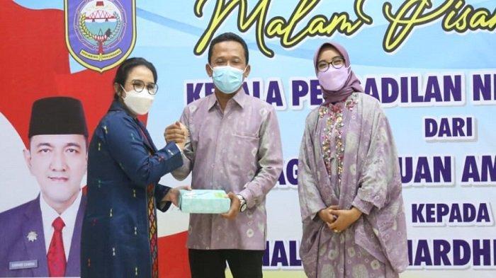Halida Rahardhini Resmi Jabat Ketua Pengadilan Negeri Baturaja