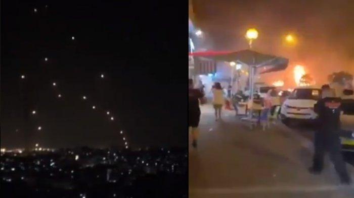 Rudal Hamas Salah Sasaran Saat Bombardir Israel, Tubuh Gadis Cantik Blasteran Arab Jadi Begini