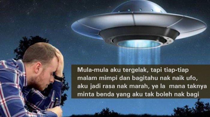 Stres, Sang Istri yang Hamil Ngidam Naik Pesawat UFO, Lalu Sang Suami Lakukan Ini