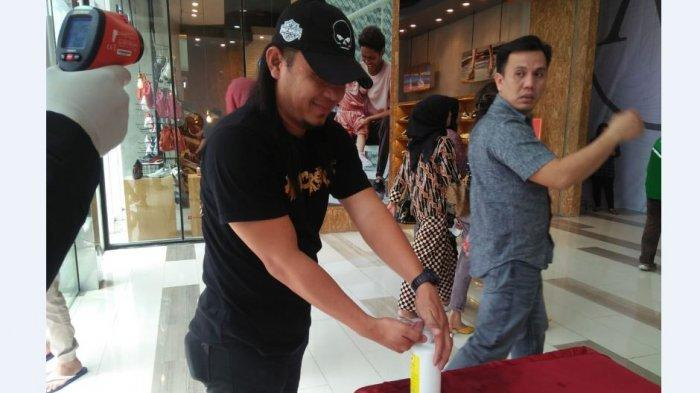 Cegah Penyebaran Virus Corona, Mall di Palembang Sediakan Hand Sanitizer Gratis