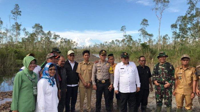 Hapus Stigma Kampung Senpira, Pemkab OKI & TNI Lakukan Pembinaan di Desa Sungai Ceper