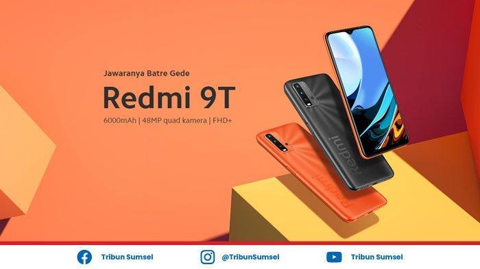 Harga dan Spesifikasi Xiaomi Redmi 9T, HP Rp 1 Jutaan Punya Baterai 6000mAh dan Kamera 48MP