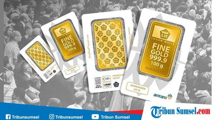 Harga Emas Hari Ini 8 Januari 2021, Logam Mulia Batangan Antam 24 Karat Turun Rp 2000 per Gram