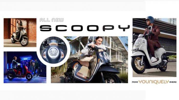 Harga Motor Matic Scoopy Terbaru 2021, Ada 4 Varian Warna, Ini Sepesifikasi Lengkapnya