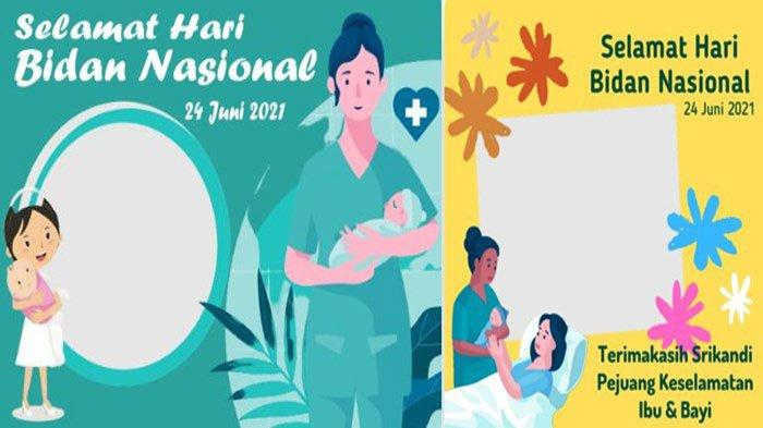 Kumpulan Link Foto Bingkai Twibbon Hari Bidan Nasional 2021, Jadikan Foto Profil dan Status WA