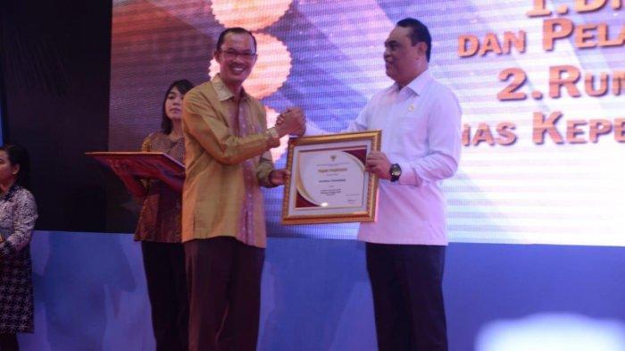 Pelayanan Publik Palembang Diganjar Penghargaan Kemenpan RB RI