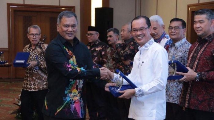 Walikota Palembang Beri Sambutan Tentang Jaringan Gas di Kementerian ESDM
