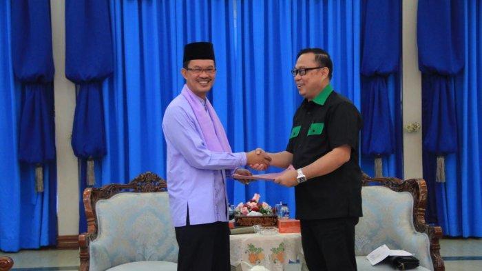 Walikota Palembang Harnojoyo Dapat Award dari Kahmi, Kontrbusi Bangun Umat