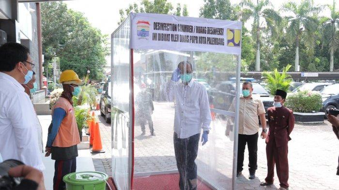 Pemkot Palembang Perbanyak Bilik Sterilisasi