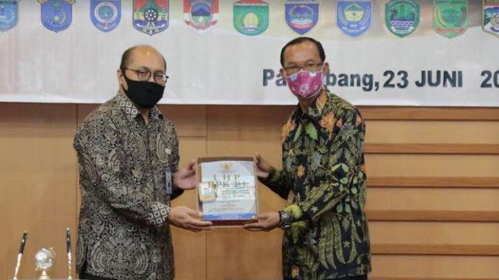 Pemkot Palembang 10 Kali Terima WTP Secara Berurutan, Harnojoyo : Ini Jadi Pemicu Lebih Baik Lagi